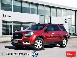 2014 Gmc Acadia SLE1/Cloth Int/7 Seater/Backup Cam/ No Accidents