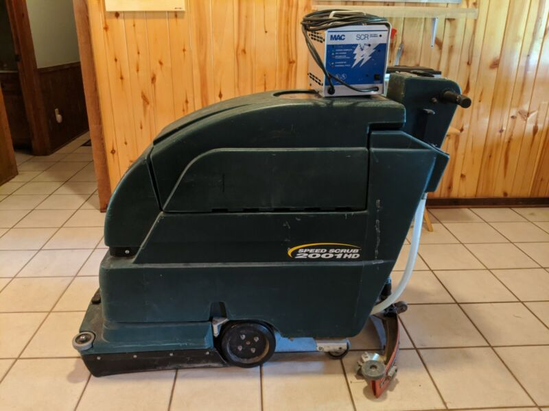 "Reconditioned Nobles Speed Scrub 2001 HD Disk 20"" Floor Scrubber Read listing"