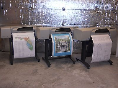 Hp Designjet 500 24 Printer Plotter With 1 Year Warranty