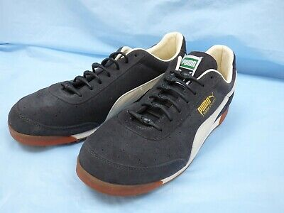 Puma Trimm Quick Trainers UK 10  363546 02 Suede Grey Tie Free Laces Shoes