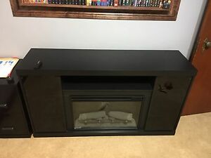 Entertainment stand/fireplace