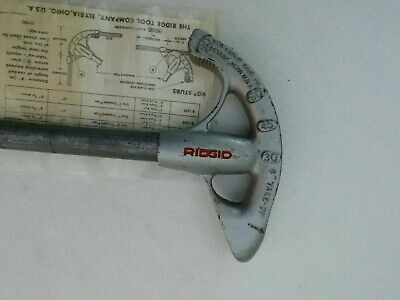 Ridgid Emt Conduit Bender 12 Inch With Steel Pipe Handle
