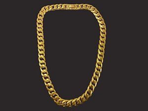22KT CURB LINK CHAIN