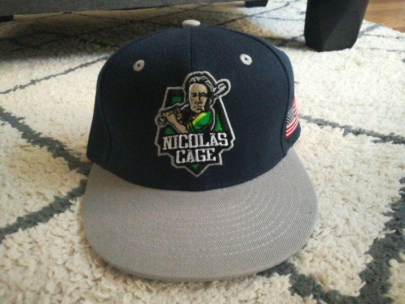 Nicolas Cage Baseball Hat MLB Softball
