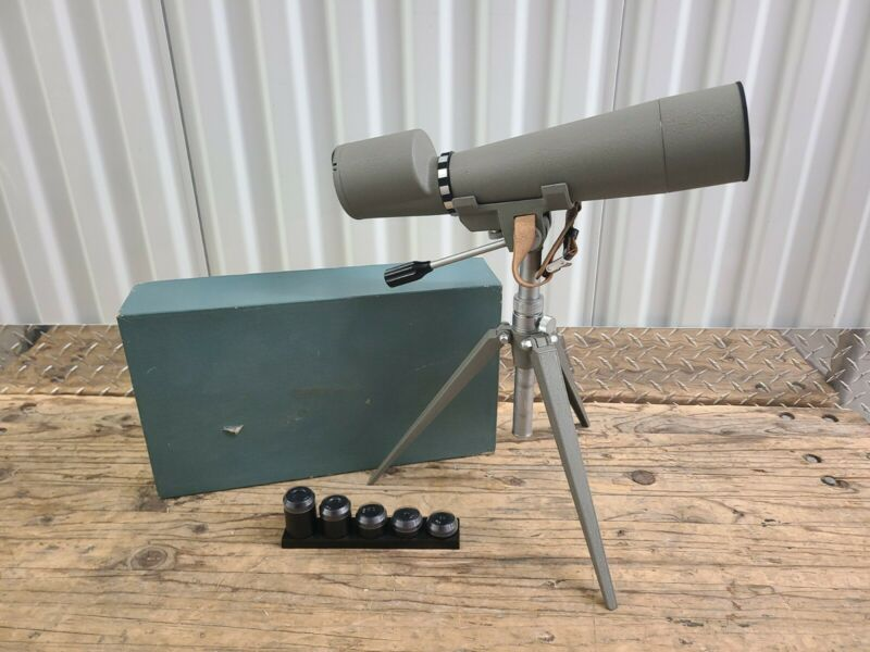VTG GOLDEN GATE Hunting Spotting Scope Tripod 15X 20X 30X 40X 60X Lenses In Box