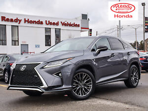 2016 Lexus RX 350 F-Sport Series 2 - Navigation - Leather - Sunr