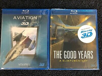 Twin Pack: Blu-Ray 3D Aviation Films (The Good Years, Aviation in 3D) comprar usado  Enviando para Brazil