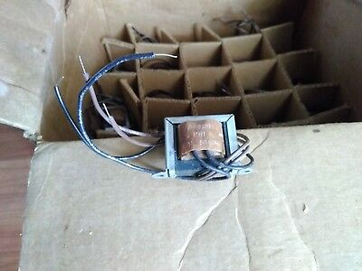 Stancor P-8391 Miniaturized Control Transformer 5060hz Prim.117v Bulk Lot Of 23