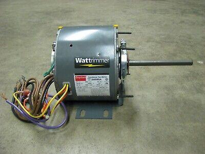 Dayton Electric Condenser Fan Motor 14 Hp 1075 Rpm 230 Volt 1 Phase 3m990a