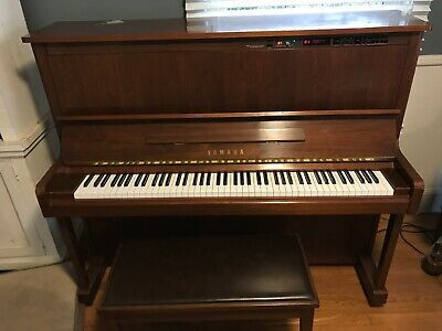Yamaha MX100A Disklavier Upgraded USB Player Piano (U1) w/ Matching Bench VIDEO for sale  Bremerton