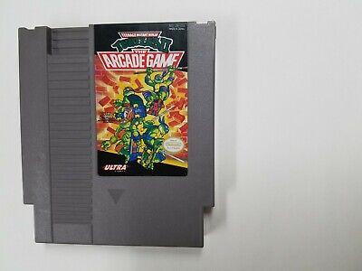 Teenage Mutant Ninja Turtles II The Arcade Game (Authentic)(Nintendo NES 1990) 2