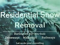 Residential snow shoveling . Driveways/ walkways