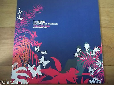 """THE FUNKY LOWLIVES FEAT MARSHMELLO - TIL I LEFT THE MUSIC 12"""" RECORD - OUTER 003"""