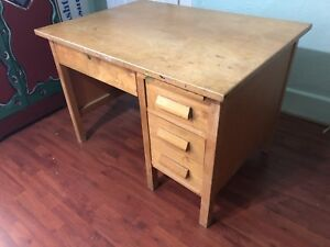 Free Solid Wood Desk!