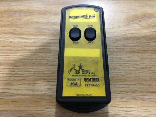 REMTRON COMMAND PRO 22T04-50 Hand Held Radio Remote Control