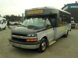 2012 Chevrolet Express G4500 21 Passenger Bus with Wheelchair Ac