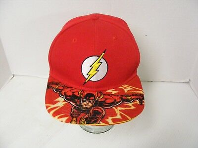 The Flash Movie Justice League DC Comics Snapback Hat Cap  VGC ()