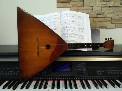 Balalaika prima. Vintage, classic Russian balalaika.Russian folk instrument 50s