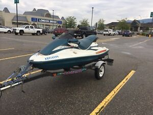 1998 tiger shark 3 seater personal watercraft