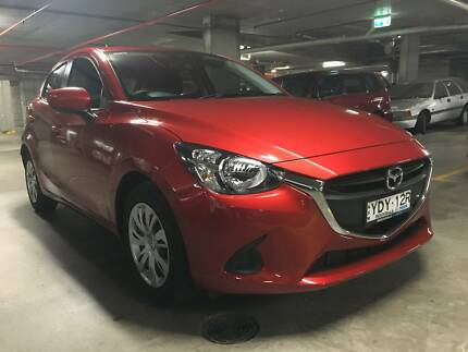 2016 Mazda 2 DJ Neo SKYACTIV-Drive Red 6 Speed Sports Automatic