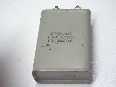 High Voltage Oil Filled Capacitor 1uf 2000v