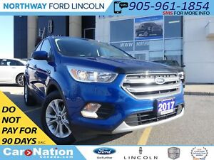 2017 Ford Escape SE | REAR CAM | HEATED SEATS | DUAL CLIMATE |