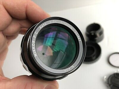 [[MINT!!]] Nikon NIKKOR P.C Auto 105mm f/2.5 Pre Ai f2.5 Best For Portrait