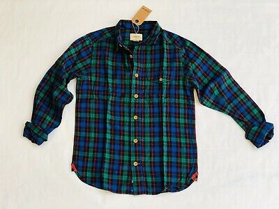 Children's Bellerose Checked Collared Shirt - 100% Cotton - 10 Years
