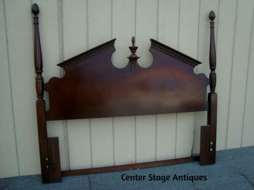 61999 Mahogany Poster Bed Headboard Full or Queen Size