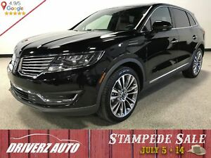 2017 Lincoln MKX Reserve AWD, PANORAMIC SUNROOF, BLIND SPOT M...