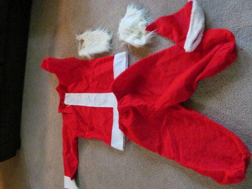 Santa Claus Costume Size Large 48