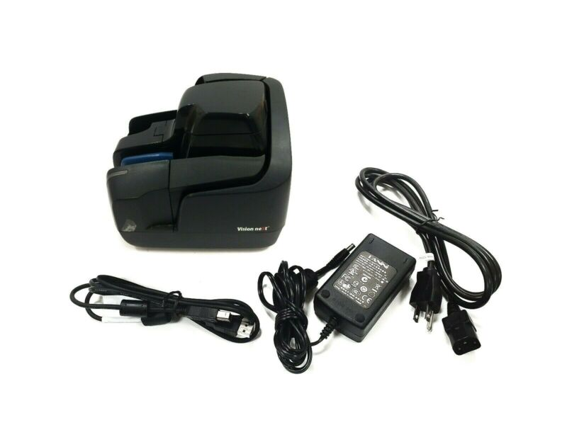 Panini Vision Next Check Scanner E172976 w/ AC Adapter & USB 2.0 Cable