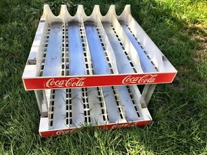 Vintage Coca-Cola retail storage racks