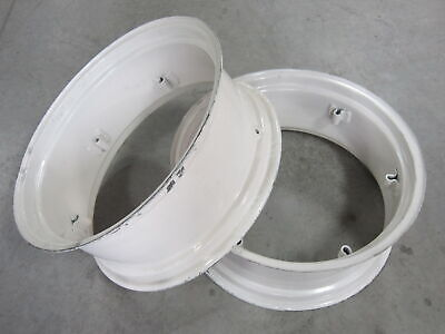 2 Wheel Rims 12x28 For Ford 3600 3610 3910 4000 4031 4040 4110 4120 4121 4130