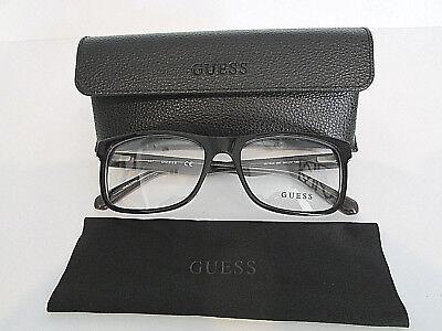Guess GU1934 GU 1934 002 Matte Black Eyeglasses Rx-Able Frame