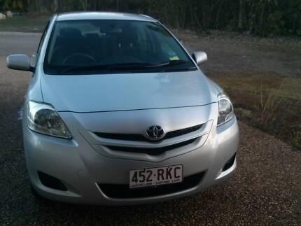 2007 Toyota Yaris Sedan Townsville City Preview