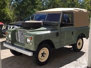 "Landrover 88"" Series 3 softtop Brookfield Brisbane North West Preview"