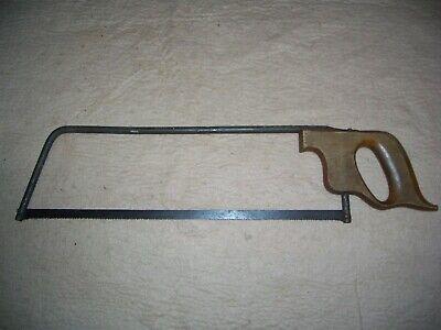 Antique Meatbone Saw No Brand 20 12 Length 4 12 Wide Blade 15 12x12