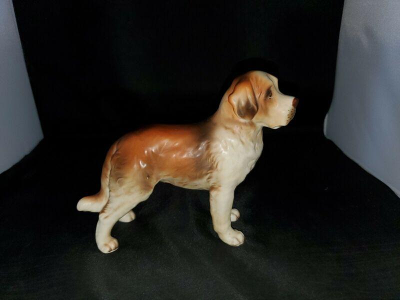 Lefton Saint Bernard Figurine