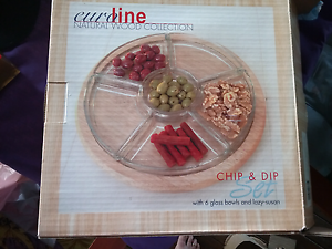 Chips & Dip lazy susan Beresfield Newcastle Area Preview