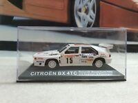 Citroen BX 4tc guppe b suecia rally 1986 nr 166 1//18 otto modelo coche con o