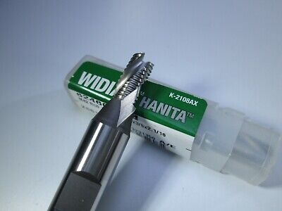 Widia Hanita M42 Roughing End Mill 14 X 38 X 2 Cobalt Milling Rougher Tool