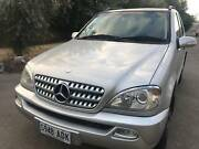2002 Mercedes-Benz ML270 CDI Luxury Auto 4x4 Diesel Wingfield Port Adelaide Area Preview