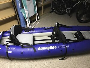Aquaglide Chelan HB two person inflatable Kayak