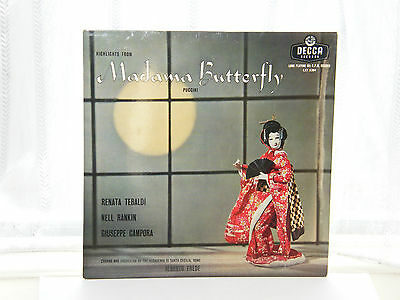 "Highlights From Madama Butterfly 12"" LP c1950s Puccini"