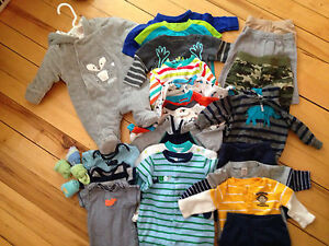 Boys 0-3  months clothing
