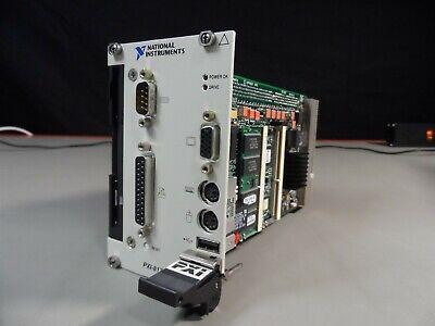 1x National Instruments Pxi-8170 3u Pxi Compactpci Controller 186595c-220