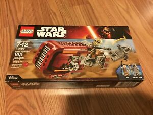 Lego Star Wars Rey's Speeder set 75099
