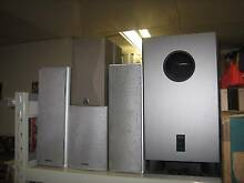 Onkyo active subwoofer + 7 speakers Shailer Park Logan Area Preview