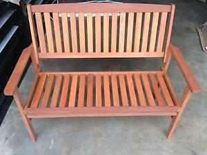 BRAND NEW - Timber Outdoor Bench Seat Brendale Pine Rivers Area Preview